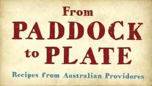 From Paddock to Plate stall signage
